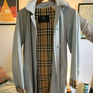 Burberry Trench with Plaid Lining